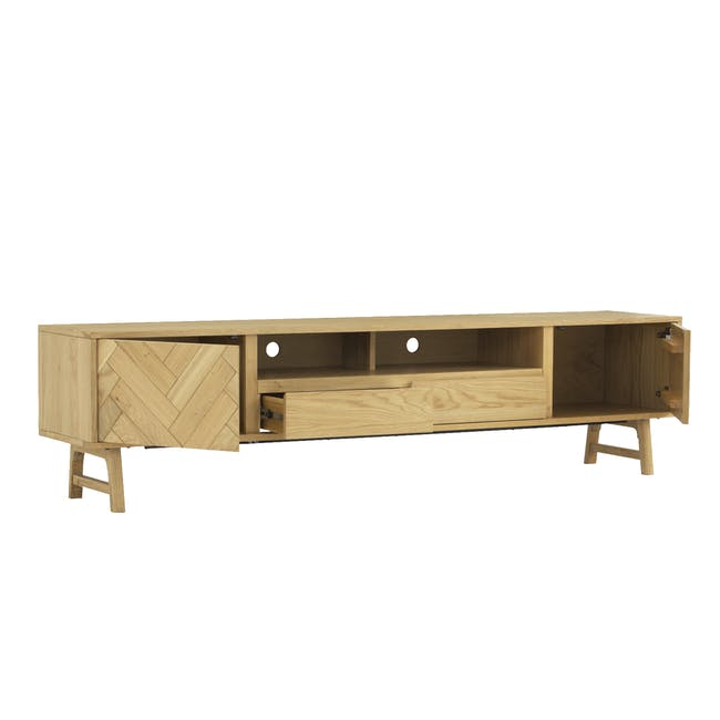 Gianna TV Console 2.2m with Gianna Coffee Table - 8