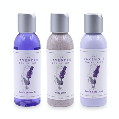 Body Pack Trio - Body Lotion, Bath & Shower Gel & Body Scrub - Image 2