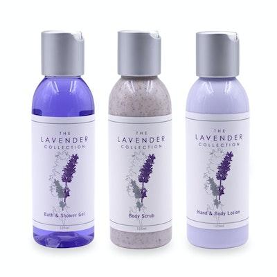 Body Pack Trio - Body Lotion, Bath & Shower Gel & Body Scrub