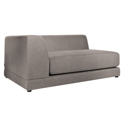 Abby Left Arm Chaise Sofa - Sand - Image 2