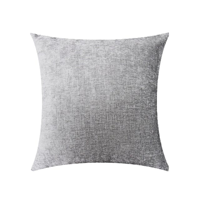 CHAMOIS Cushion Cover - Silver - 0