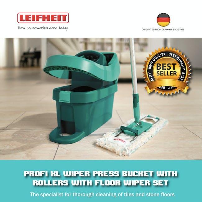 Leifheit Profi System High Quality Press Mop with Bucket Set - 3