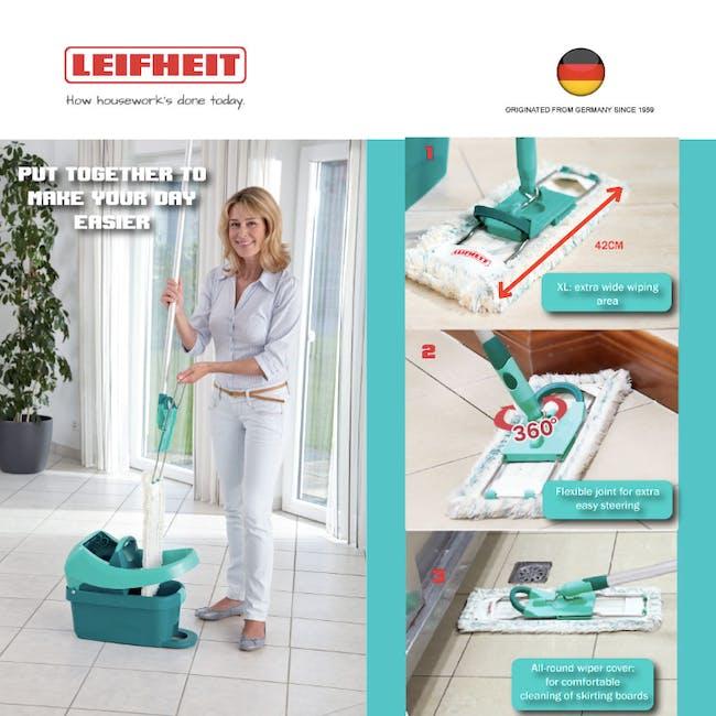 Leifheit Profi System High Quality Press Mop with Bucket Set - 2
