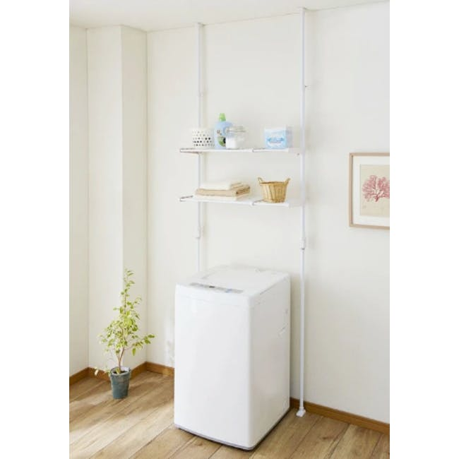 HEIAN Adjustable Standing Laundry Pole - 1