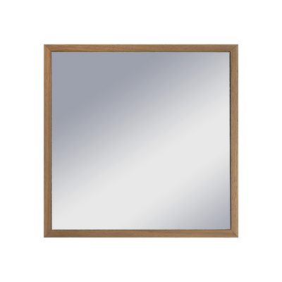 Hosta Square Mirror - Walnut - Image 2