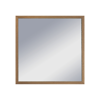 Hosta Square Mirror 40 x 40 cm - Walnut - Image 2