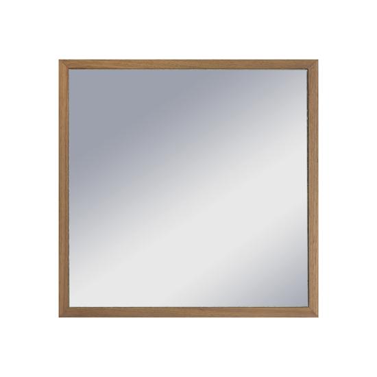 Malmo - Hosta Square Mirror 40 x 40 cm - Walnut