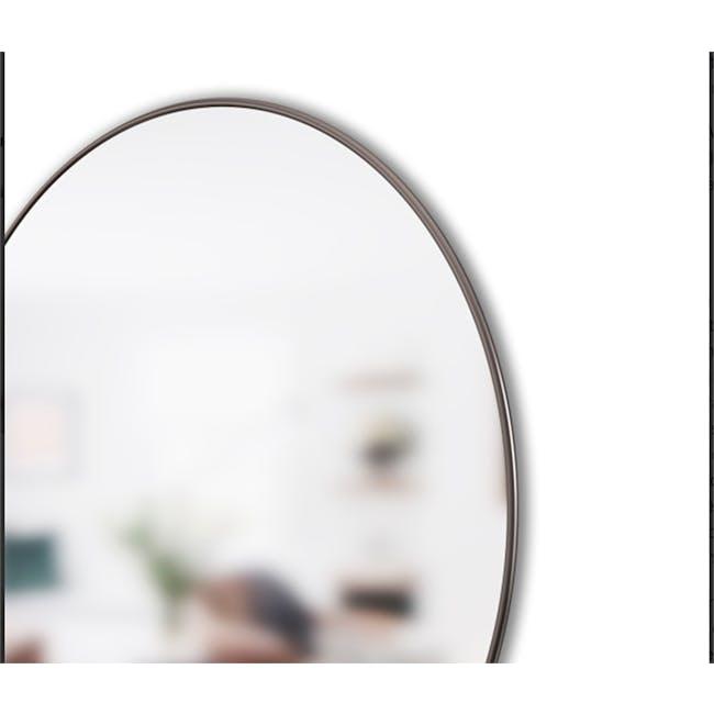 Hubba Round Mirror 86 cm - Chrome - 3