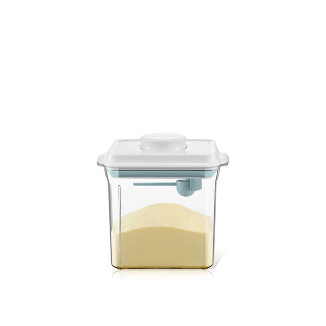 ANKOU Rectangle Air Tight Container with Spoon (3 Sizes) - 1