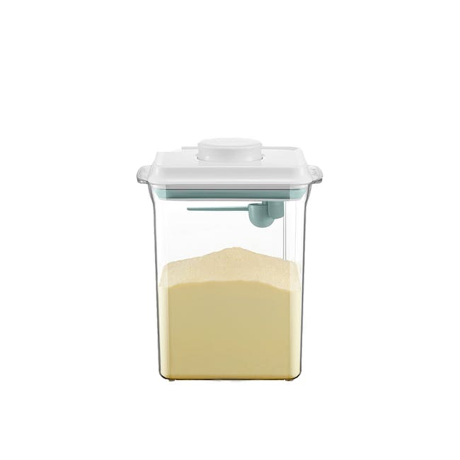 ANKOU Rectangle Air Tight Container with Spoon (3 Sizes) - 0