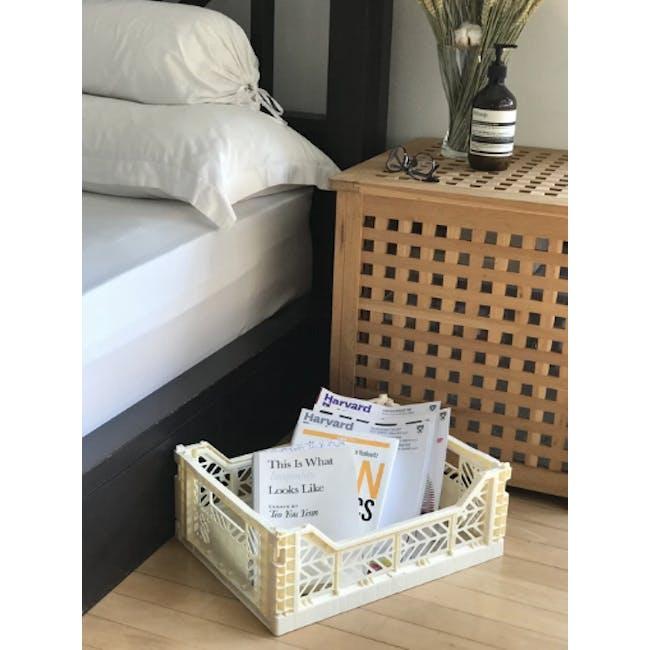 Aykasa Foldable Midibox - Milk Tea - 3