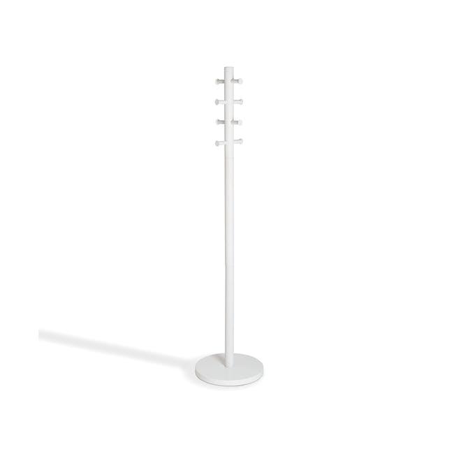 Pillar Coat Rack - White - 3