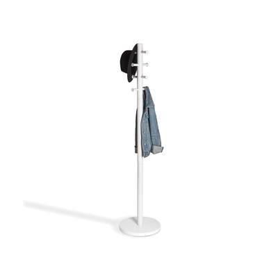 Pillar Coat Rack - White - Image 1