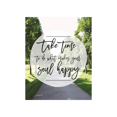 Take Time Canvas Art Print - Image 2