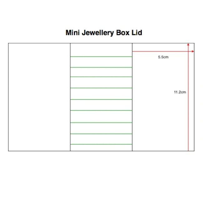 Stackers Mini Jewellery Box with Lid - Blush - 4