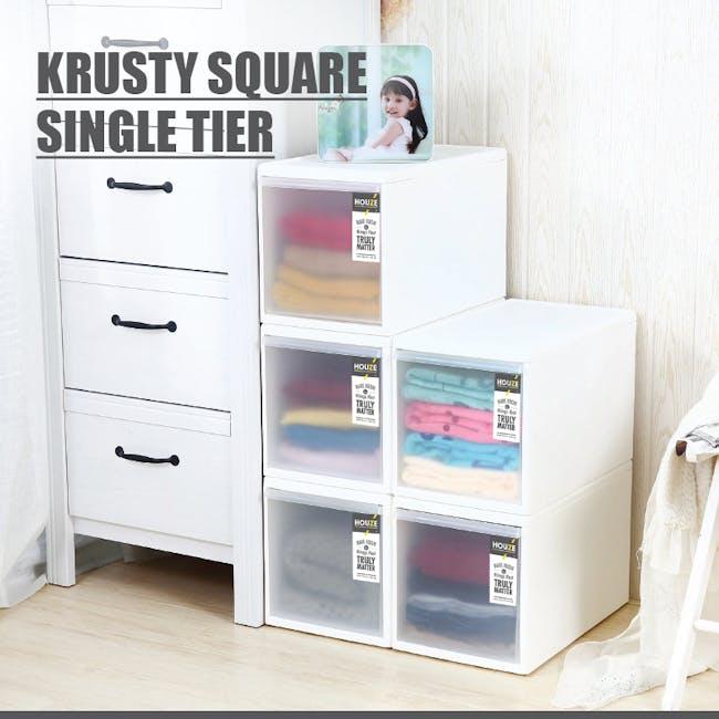 Krusty Square Single Tier Drawer - Tall - 2