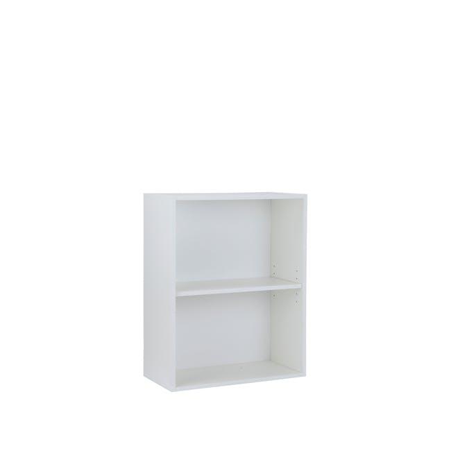 Hitoshi 2-Tier Bookshelf - White - 3