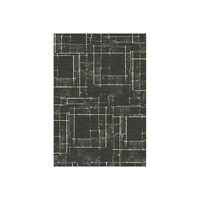 Elegance Cosy Rug - Lined Grey