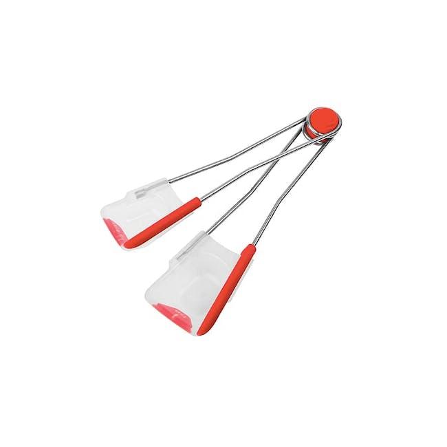 Dreamfarm Levoons Scrape Level Measuring Spoons - Red - 2
