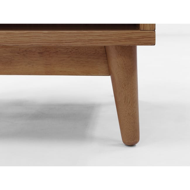 Kyoto Top Drawer Bedside Table - Walnut - 6