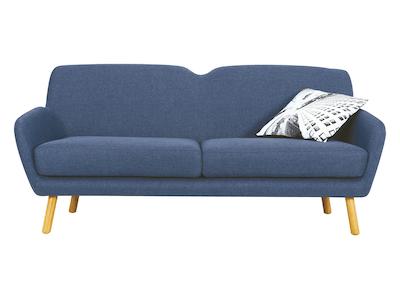 Joanna 3 Seater Sofa - Midnight Blue