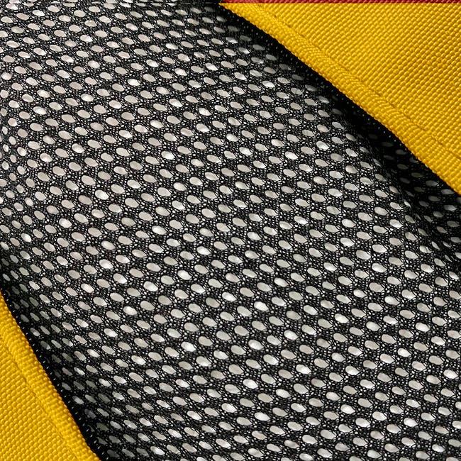 Splash Waterproof Outdoor Triangle Bean Bag - Yellow - 3