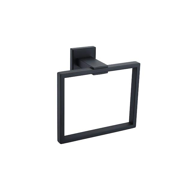 JVD Argo Black Towel Ring - 0