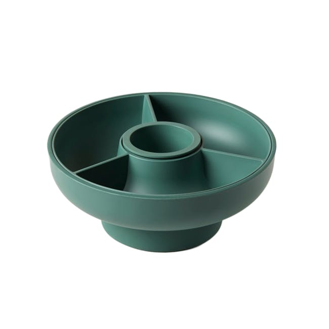 OMMO Hoop Serving Bowl - Olive - 0