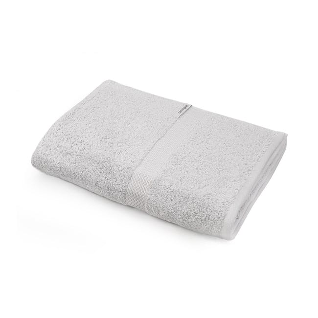 Canningvale Royal Splendour Bath Towel - Silver - 0