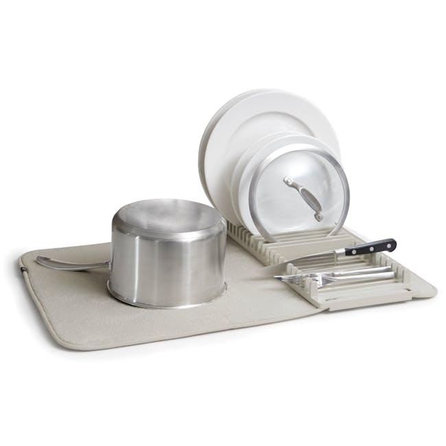 Udry Drying Mat - Light Grey - 0