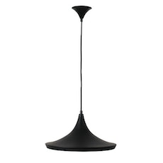 Beat Wide Black Pendant Lamp
