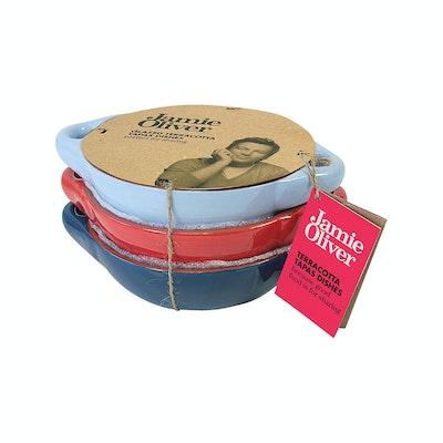 Jamie Oliver Terracotta Tapas Dishes (Set of 3) - Image 2