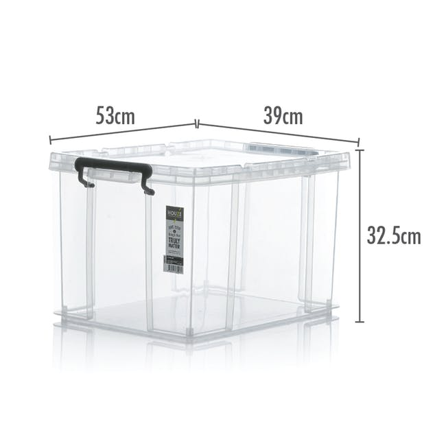 HOUZE Strong Box with Lid - 42L - 3