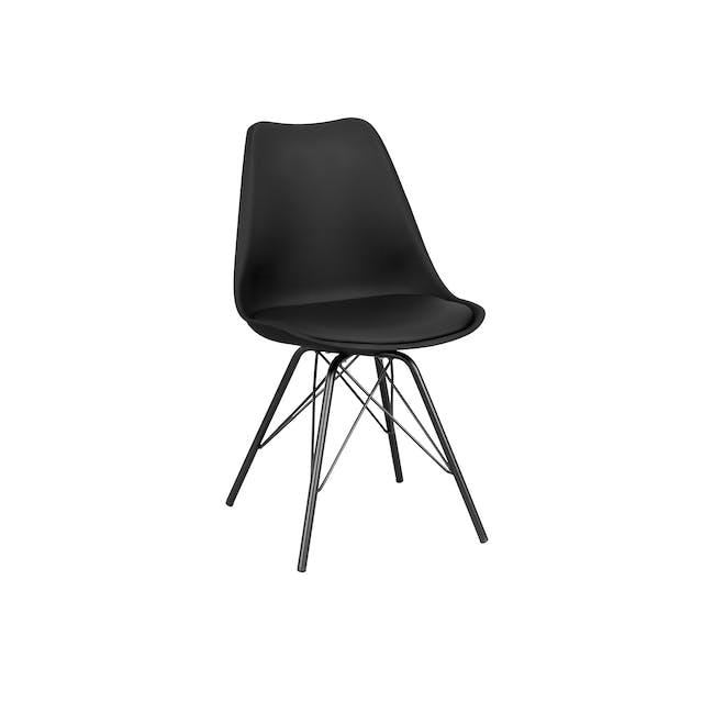 Axel Chair - Black, Carbon - 0