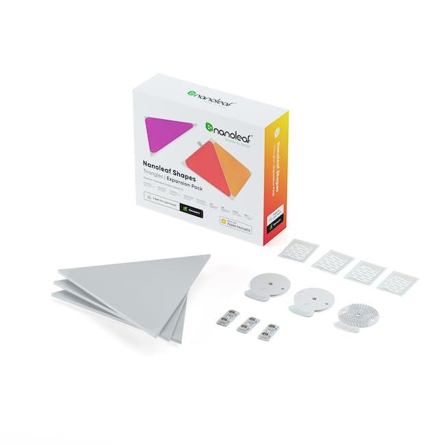 Nanoleaf Shapes - Triangles Expansion Kit (3 panels) - 0