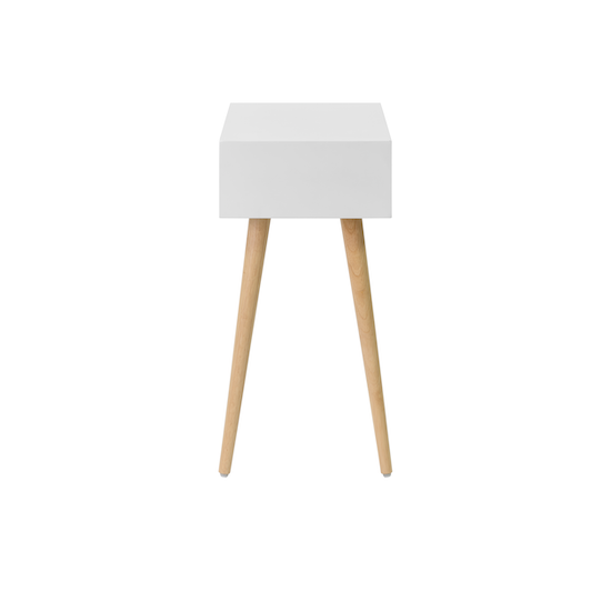 Vietnam Housewares - Bowen Bedside Table - Natural, White