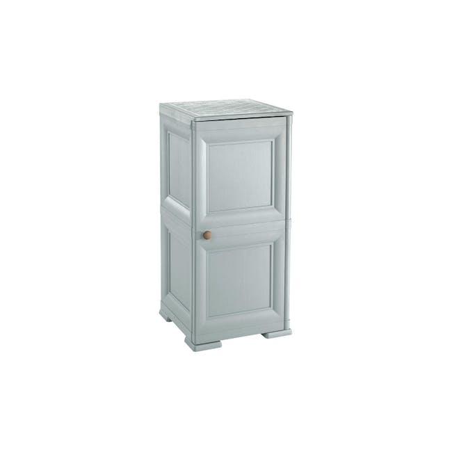 Omnimodus 4 Shelves Shoe Cabinet - Grey - 0