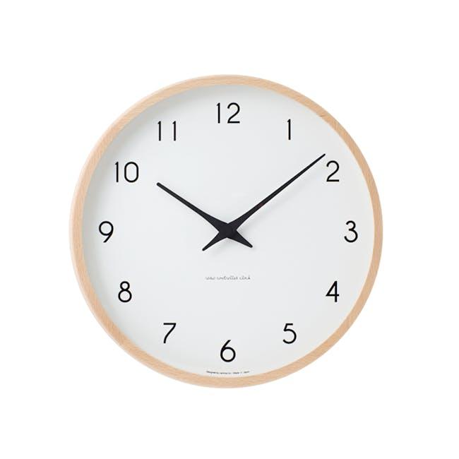Campagne Clock - Natural - 0