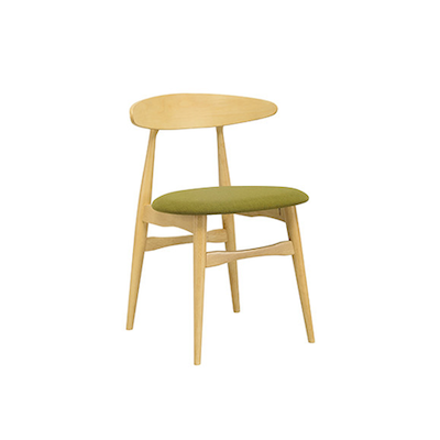 San Francisco Dining Chair - Natural, Olive - Image 1