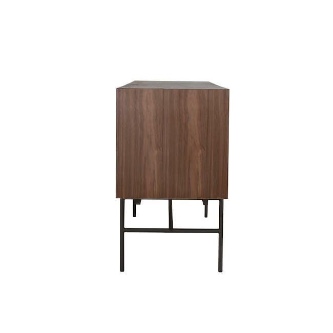 Bacchus Sideboard 2m - Walnut, Grey - 3