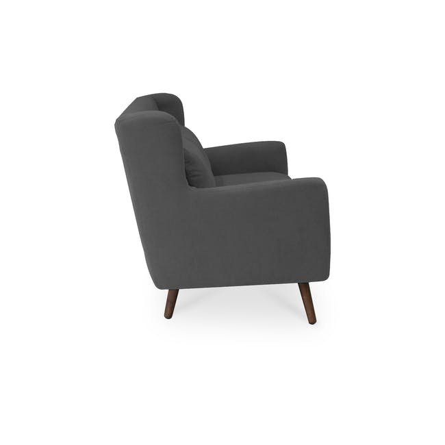 Luke 3 Seater Sofa - Onyx Grey - 3