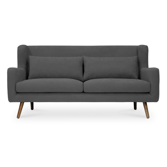 Luke 3 Seater Sofa - Onyx Grey - 0