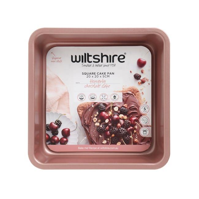 Wiltshire Rose Gold Square Cake Pan - 2
