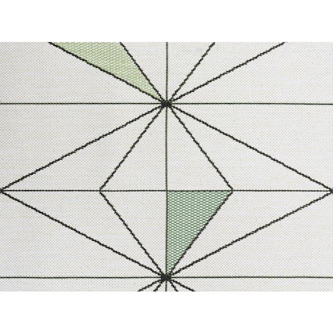 Star Flatwoven Rug 1.7m x 1.2m - Sage Geo - 3
