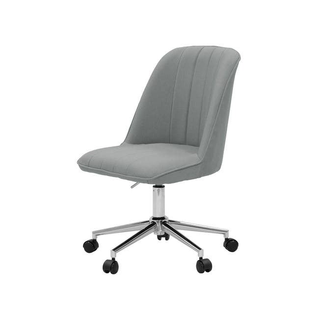 Harper Mid Back Office Chair - Grey - 1