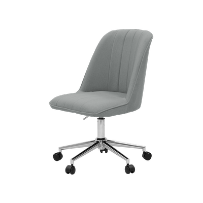 Harper Mid Back Office Chair - Grey - Image 2