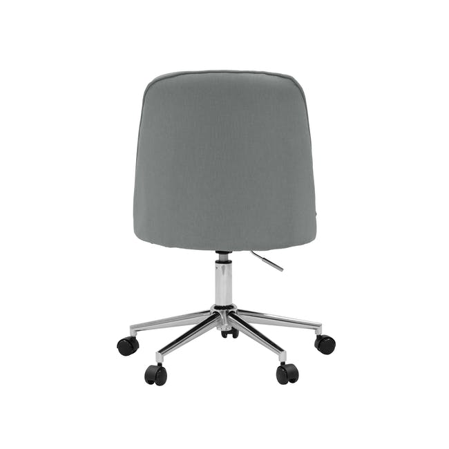 Harper Mid Back Office Chair - Grey - 4