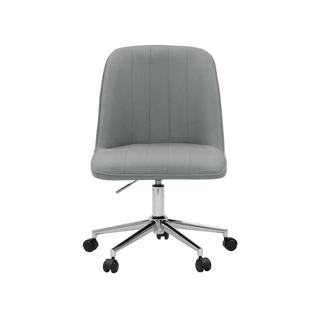 Harper Mid Back Office Chair - Grey - 0