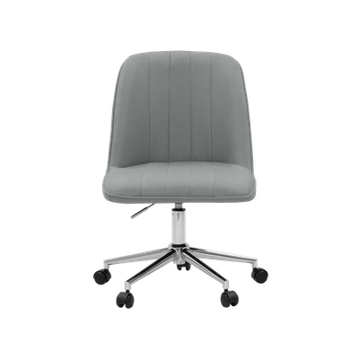 Harper Mid Back Office Chair - Grey - Image 1