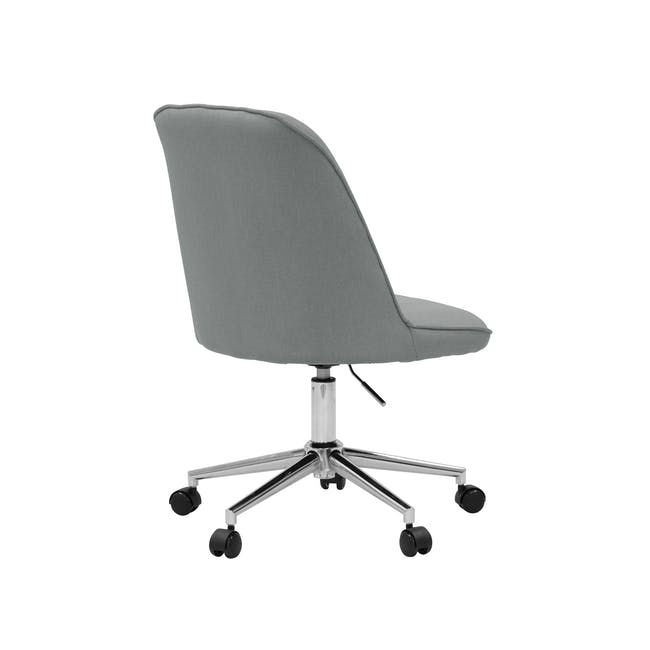 Harper Mid Back Office Chair - Grey - 3